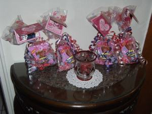 Little goodie bags for the girls <3