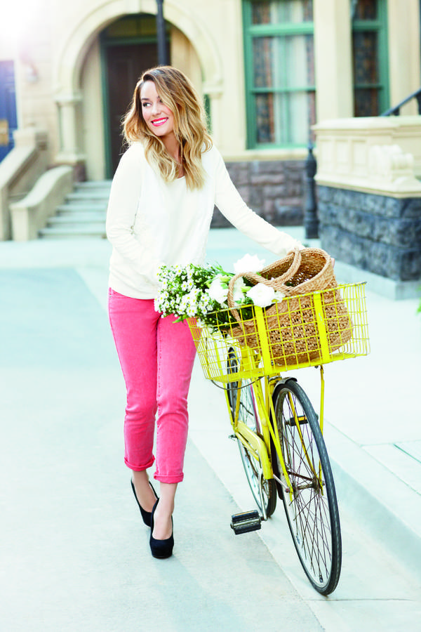 fashion and bicycles