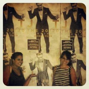 Posing w/ Our Man ;)