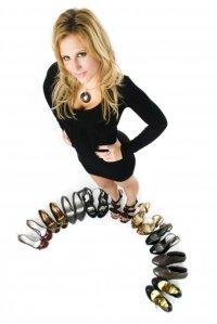 She's wears heels like it's a sport: Lauren Nicole Photograph by Robert DeSantos Jr.