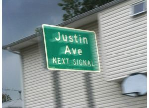 justin ave.