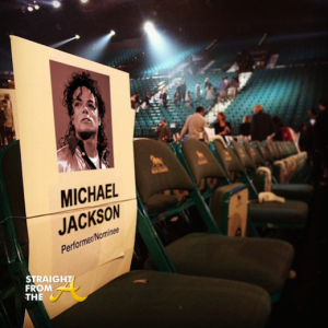 Michael even had his very own seat that night.... (what a beautiful gesture!)