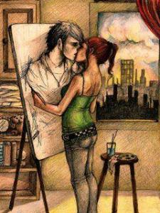 painting_love_couple