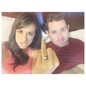 Colleen and Joshua David Evans (JoshuaDTV) Spoiler: They're engaged