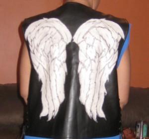 cropped vest on