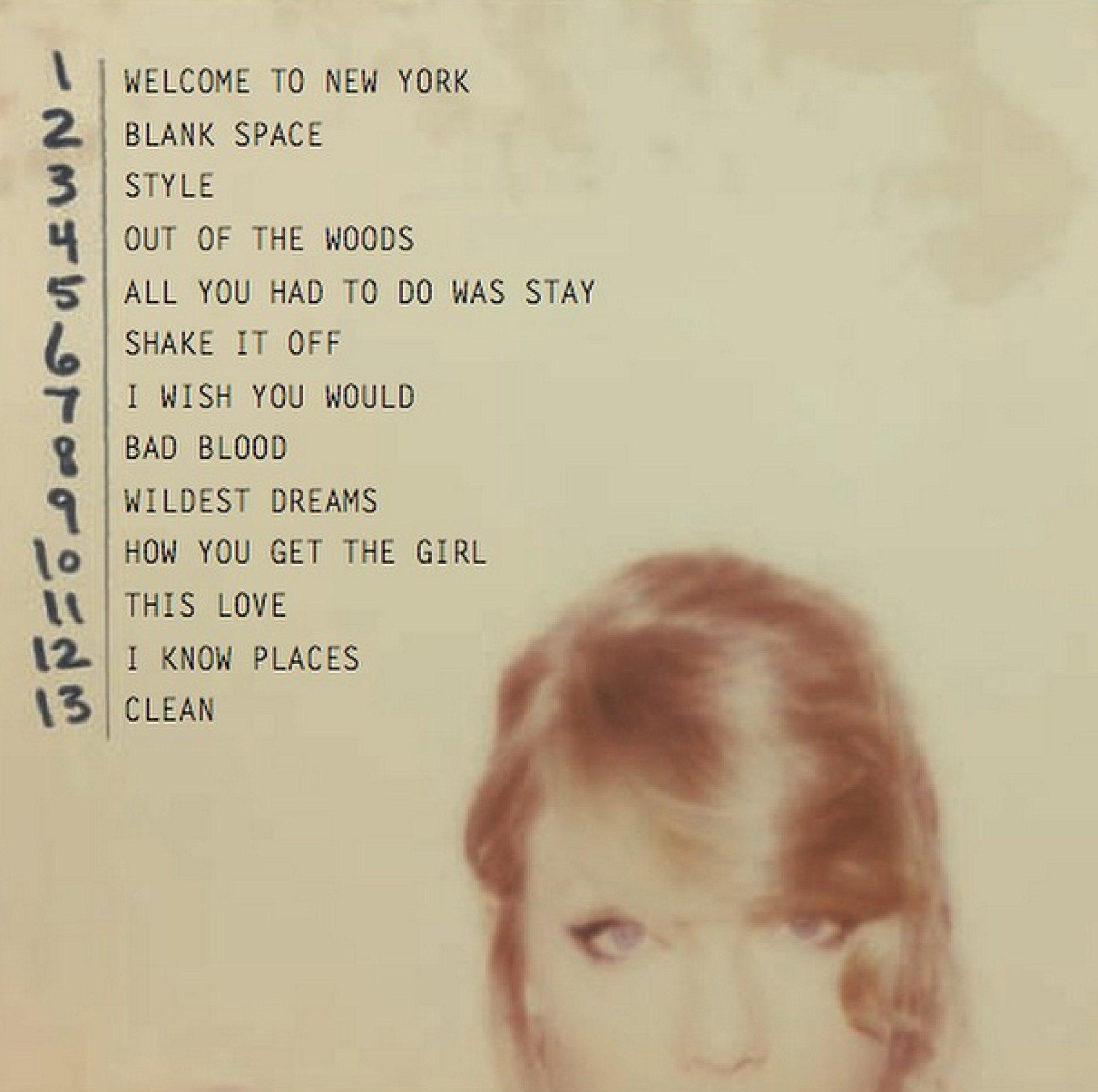 "Man Overboard Lyrics Taylor Swift ""1989�..."