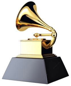 grammy award statuette