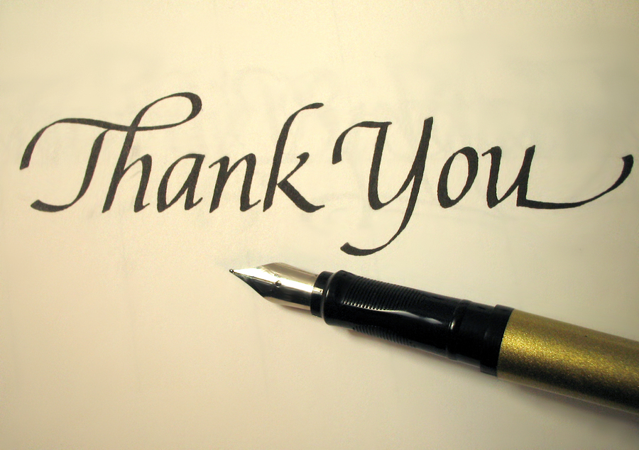 Thank You A Letter Just For You Michelle Leigh Writes