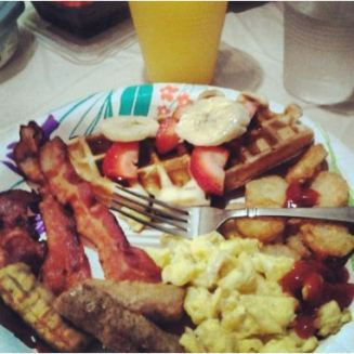 breakfast for dinner