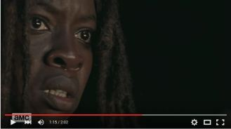 michonne after -to pick- lucille pov
