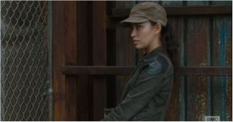 Rosita throwing shade