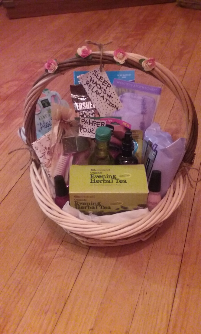 Sleep Hacks Relaxation Basket Gift Idea Michelle Leigh Writes