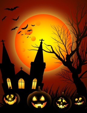 Halloween-Night-with-Black-Castle-on-The-Moon-Background-Illustration[1]