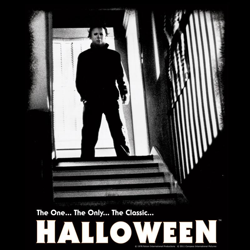 halloween-michael-myers-stairs-w-logo-tee[1]