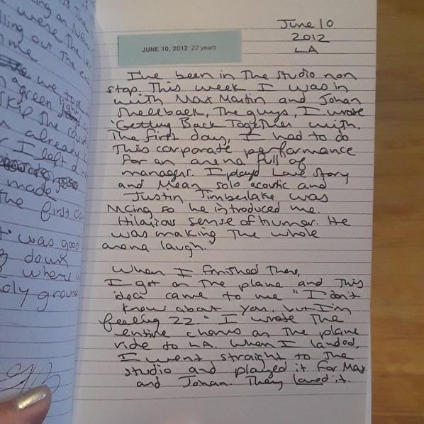 JT diary